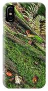 Forest Floor Fungi And Moss IPhone Case