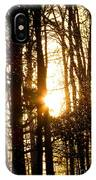 Forest Flurry Lightscape  IPhone Case
