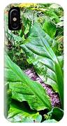 Forest Foliage IPhone Case