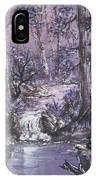 Forest In Lavender IPhone Case