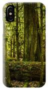 Forest Of Cathedral Grove Collection 3 IPhone Case