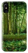Forest Of Cathedral Grove Collection 7 IPhone Case