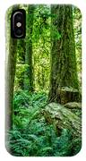 Forest Of Cathedral Grove Collection 8 IPhone Case