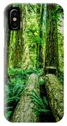 Forest Of Cathedral Grove Collection 9 IPhone Case