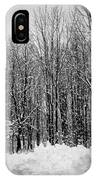 Forest Of Snow IPhone Case
