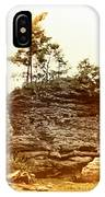 Forest On A Rock IPhone Case