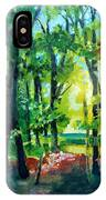 Forest Scene 1 IPhone Case
