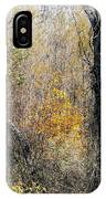 Forest Trees In Winter  IPhone Case