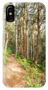 Forest Walk 19 IPhone Case