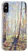 Forest Walking IPhone X Case