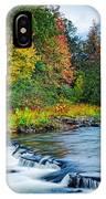 Foretelling Of A Storm Beaver's Bend Broken Bow Fall Foliage IPhone Case