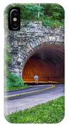 Fork Mountain Tunnel IPhone Case