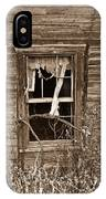 Forlorn Window IPhone Case