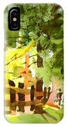 Forsythia In Bloom IPhone Case