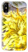 Forsythia In Springtime IPhone Case
