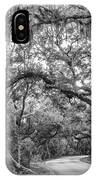 Fort Clinch Live Oaks IPhone Case