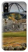 Fort Crown Point Panorama IPhone Case
