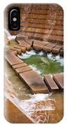 Fort Worth Water Gardens IPhone Case