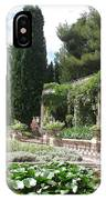 Fortress Garden  Villeneuve Les Avignon IPhone Case