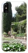 Fortress Garden  Villeneuve Les Avignon IPhone Case