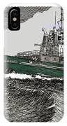 Foss Tractor Tugboat IPhone Case