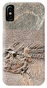 Fossil Fishing IPhone Case