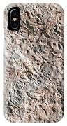 Fossiliferous Limestone IPhone Case