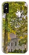 Founders Hall Portico Entrance IPhone Case