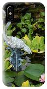 Fountain Among Lilies IPhone Case