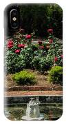Fountain Of Roses IPhone Case