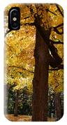 Four Yellow Trees  IPhone Case
