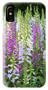 Foxglove Garden In Golden Gate Park IPhone Case