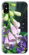 Foxglove In Sunlight IPhone X Case
