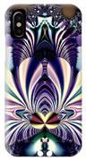 Fractal 26 Jeweled Tone Lotus Flower IPhone Case