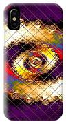 Fractal Abstract Creations Catus 1 No 1 H  IPhone Case
