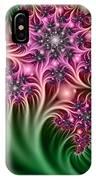 Fractal Abstract Dreamy Garden IPhone Case