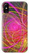 Fractal - Abstract - Loopy Doopy IPhone Case