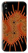 Fractal Art - A Creepy Crawly IPhone Case