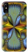 Fractal Art Egg IPhone Case