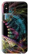 Fractal - Black Hole IPhone Case