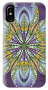 Fractal Blossom IPhone Case