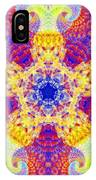 Fractal Corridors IPhone Case