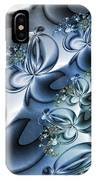 Fractal Dancing The Blues IPhone Case