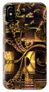 Fractal Flooding IPhone Case