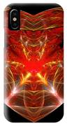 Fractal - Heart - Open Heart IPhone Case