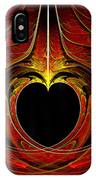 Fractal - Heart - Victorian Love IPhone Case