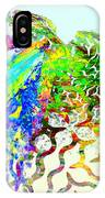 Fractal - Hummingbird IPhone Case
