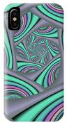 Fractal In Itself IPhone Case
