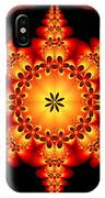 Fractal In The Centre IPhone Case