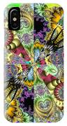 Fractal Lotus Zodiac IPhone Case